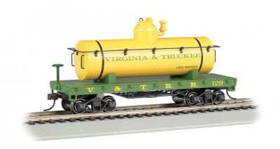 Virginia & Truckee - Old-Time Tank Car (HO Scale)