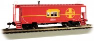 Santa Fe - Bay-Window Caboose (HO Scale)