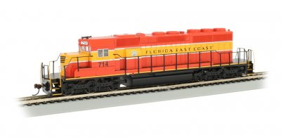Florida East Coast #714 - SD40-2 - DCC (HO)