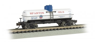 Sparton Oil #8757 - ACF 36.5' 10K Gal 1-Dome Tank Car