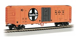 50' Steel Reefer - Santa Fe (HO Scale)