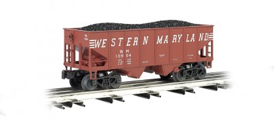 Western Maryland 55-Ton 2-Bay USRA Outside Braced Hopper
