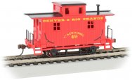 Denver & Rio Grande™ - Old-Time Bobber Caboose (HO Scale)