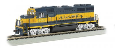 Alaska #3002 - GP40 - DCC Sound Value