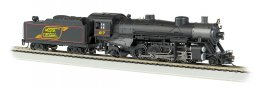Maine Central #617 Light 2-8-2 w/Med. Tender-DCC Sound Value (HO