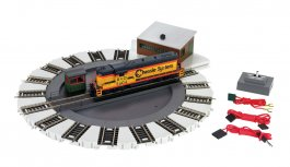 DCC-Equipped Turntable (HO Scale)