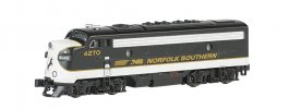 Norfolk Southern (black & gray) - F7A - DCC