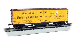 Manhattan Brewing Co. - Track Cleaning 40' Wood-Side Reefer