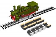 Rollers and Drive Wheel Cleaners (HO Scale)
