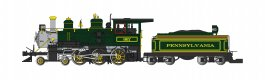 Pennsylvania - Green - 4-6-0 (DCC & SOUND READY)