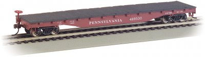 Pennsylvania - 52' Flat Car (HO Scale)