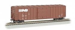 50.5' ACF Outside Braced Box Car - Norfolk Southern (HO Scale)