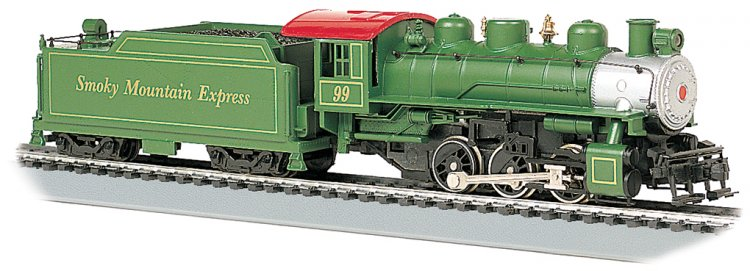 Smoky Mountain #99 - USRA 0-6-0 w/Short Haul Tender (HO Scale) - Click Image to Close