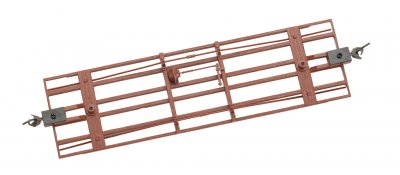 Freight Car Underframe - Oxide Red (3/Pk)