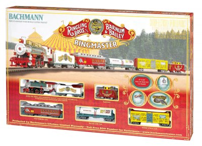 Ringling Bros. & Barnum & Bailey - Ringmaster (HO Scale)