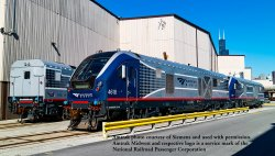 AMTRAK MIDWEST #4618- CHARGER SC-44 - DCC WOWSOUND®