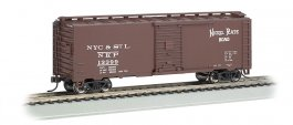 Nickel Plate Road - Steam Era 40' Box Car (HO Scale)