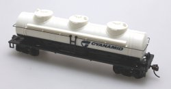 Tank Car - Four Car Set - Cyanamid (HO Scale)