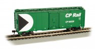 CP RAIL #60026 - GREEN - 40' Box Car (HO Scale)