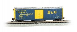 B&O® #478554 - Track Cleaning 50' Plug-Door Box Car