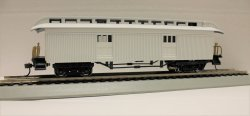 Baggage (1860-80 era) - White Prototype (HO Scale)