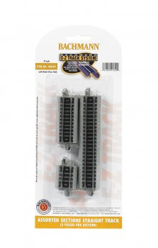 Assorted Straight Short Sections (N Scale)