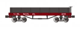 U.S. Military Railroad - Old-Time Gondola