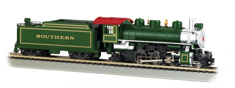 Southern (green) - 2-6-2 Prairie (HO Scale) - Click Image to Close