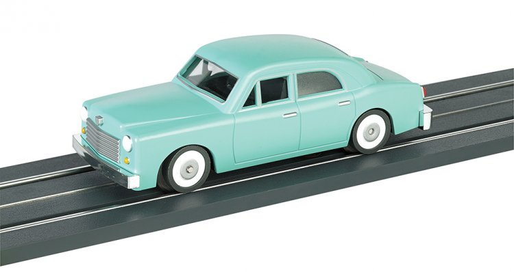E-Z Street™ Seamist Green Sedan - Click Image to Close