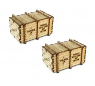 HO Scale Machinery Crates - Kit (2 per Pack)