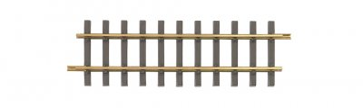 1' Straight 12/Box - Brass Track (Large Scale)