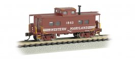 Western Maryland® #1863 (Speed Lettering) - NE Steel Caboose