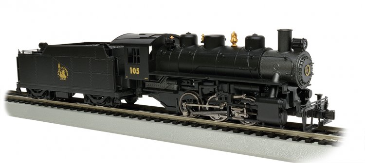 Jersey Central #105 - USRA 0-6-0 w/Short Haul Tender (HO Scale) - Click Image to Close