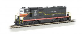 Cotton Belt™ #304 (Black Widow) - GP7 - DCC (HO Scale)