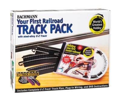 Steel Alloy First Railroad Track Pack (HO Scale)