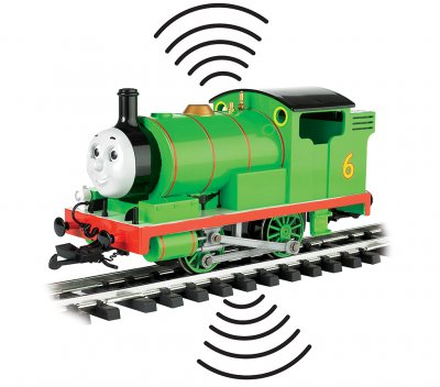Percy The Small Engine w/ DCC Sound (with moving eyes)