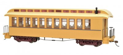 Painted Unlettered Buff & Tan - Coach/Obser. w/ Lighted int.