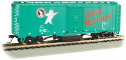 Great Northern #27429 - Track-Cleaning 40' Box Car