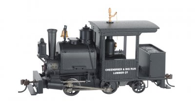 Greenbrier & Big Run Lumber Co. 0-4-2 Porter - DCC