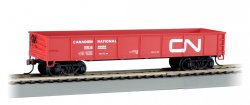 Canadian National - 40' Gondola w/coal load