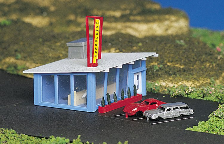 Drive-In Burger Stand - Click Image to Close