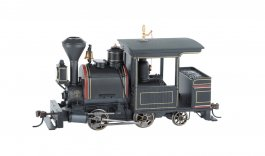 Black W/ Maroon & Gold, Unlettered 0-4-2 Porter - DCC
