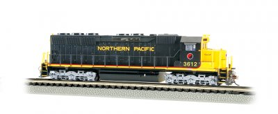 Northern Pacific #3612 - SD45 - DCC Sound Value