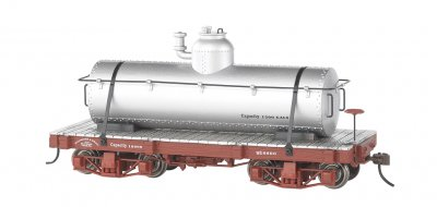 18 ft. Tank Car - Silver, Data Only (2 per box)