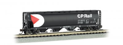 CP Rail - 4 Bay Cylindrical Grain Hopper