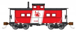 Jersey Central #91529 - NE Steel Caboose (HO Scale)