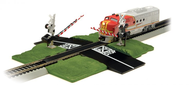 Crossing Gate (N Scale) - Click Image to Close