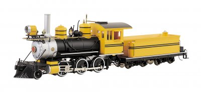 Painted Unlettered - Bumble Bee DCC- 2-6-0