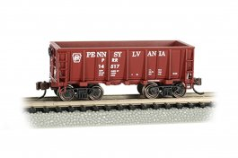 Pennsylvania - Tuscan Red Ore Car (N Scale)