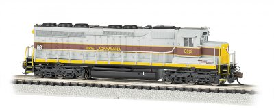Erie Lackawanna #3619 - SD45 - DCC Sound Value